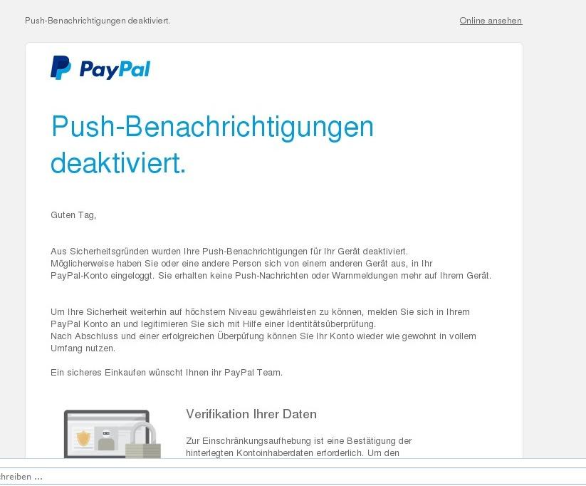 paypal schulden