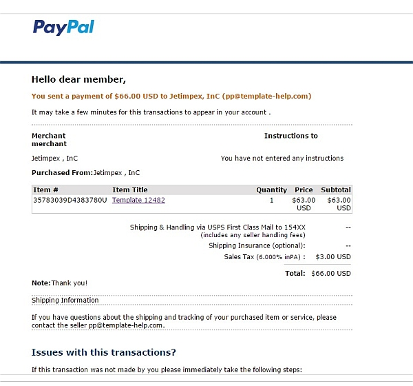 Internetbetrug Mit Paypal