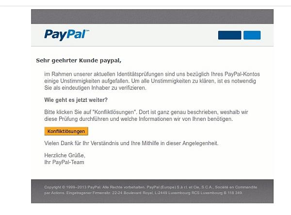 Paypal Konto Nicht Bestätigt