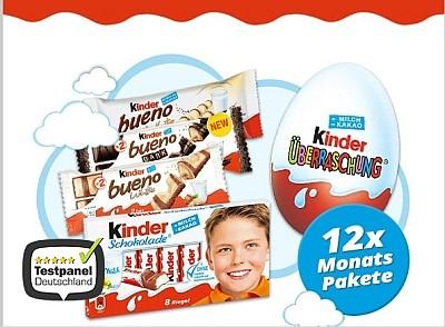 Marie, 12x Kinder Probierpakete für Dich! - Spam