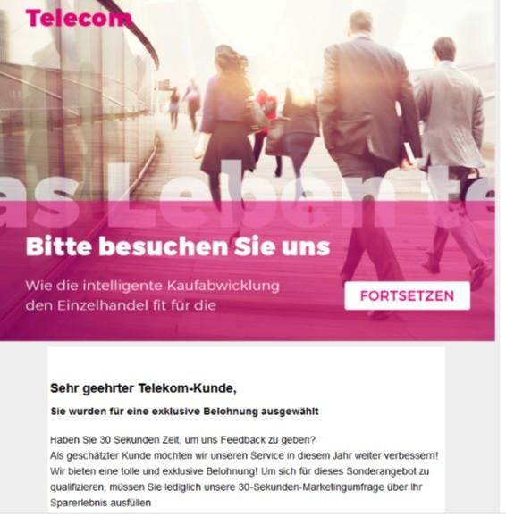 Fake Mail Telekom