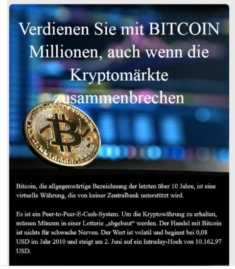 Reich geworden mit bitcoins stock we love betting twitter headers
