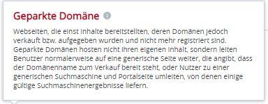 text gepakte domain 10.6.2020
