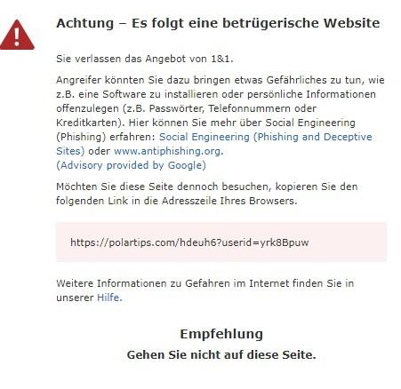 polartips.com warnung 31.3.2021