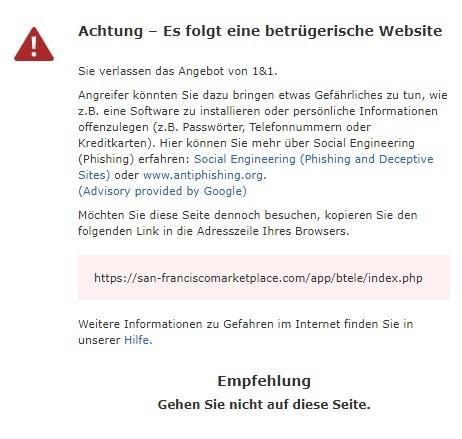 san-franciscomarketplace.com - warnung 31.3.2021