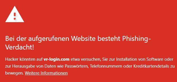 vr-login.com - warnung - 9.9.2021