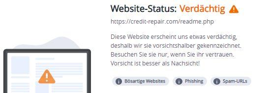 credit-repair.com...warnung mcafee 13.10.2021