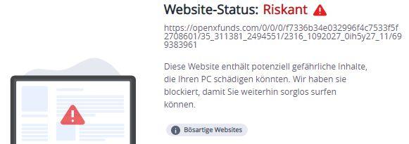 openxfunds.com...Warnung mcafee 5.10.2021
