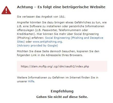 zlam.myftp.org... warnung 1.10.2021