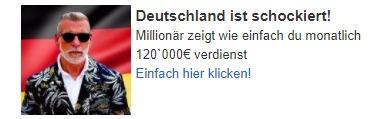 Deutschland ist schockiert...