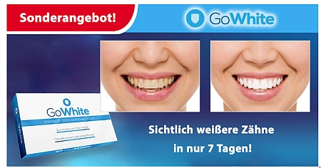 Sichtbar weissere Zahne in nur 7 Tagen!