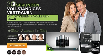 Look Years Younger With Assure Hair!