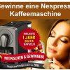 Öffnen, Klicken, Anmelden = Nespresso Maschine sic...