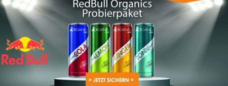 Jetzt RedBull Organics testen - Spam