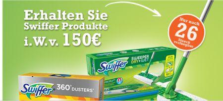 Erhalten Sie Swiffer Produkte i.W.v.150 €